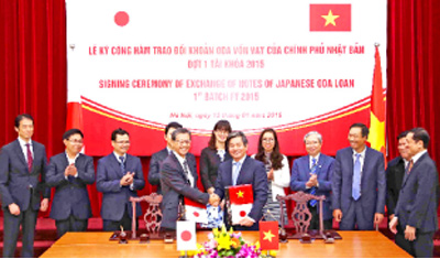 Japanese ODA for Vietnam hits record high