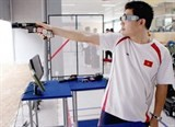 vietnamese shooter wins bronze at issf world cup