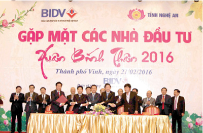 Nghe An lights investment beacon