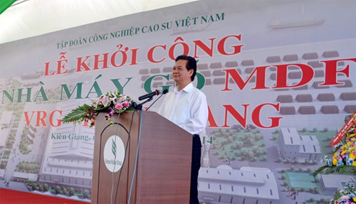 Largest wood processing plant in Mekong Delta inaugurated