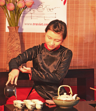 Introducing tea culture to the world