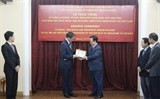 singaporean ambassador honoured with friendship insignia