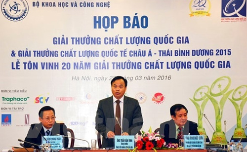 80 Vietnamese firms to receive national quality awards