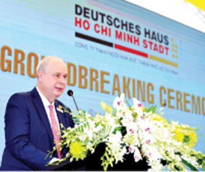 Most energy-efficient and green office building development: A beacon of Vietnamese-German friendship