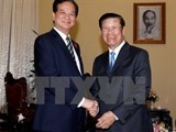 vietnam laos hold great cooperation potential pm