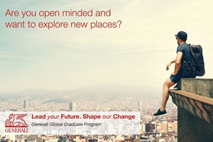 Start-up of the first Generali Global Graduate Program
