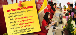 Vietjet increases HCM City – Bangkok flights