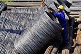 steel consumption up in first quarter
