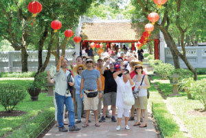 More than two million foreign tourists visit Vietnam