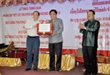 vietnam laos cooperation moves towards cross border trade agreement