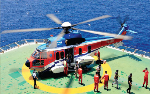 Southern Vietnam Helicopter Company  30 years of safe flights