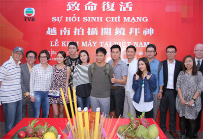 "TVB Series ""Fatal Attraction"" starts filming in Vietnam"
