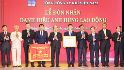 PV Gas awarded Hero of Labour title