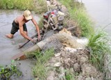 mekong delta to collect fresh water