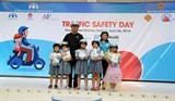abbott volunteers take part in extracurricular activities aimed at enhancing child road safety competency