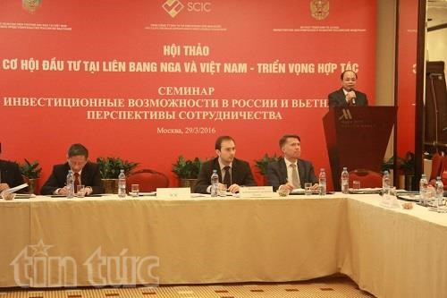 SCIC promotes investment ties with Russian partners