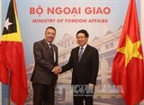 vietnam timor leste seek increased cooperation
