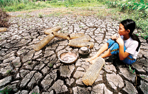 Leveraging int'l aid to combat drought, salinity