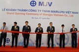 marujyu inaugurates metal part factory in ha nam
