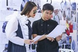 lan khue prepares for vietnam intl fashion week