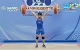 weightlifter wins gold silver at continental tournament
