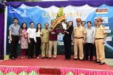 eleventh charity caravan 2030 comes to poor pupils in quan ba ha giang