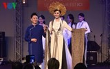 ao dai fashion show at paris fair 2015