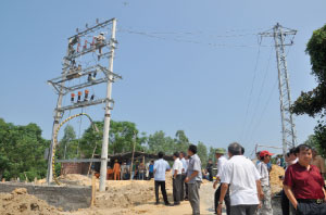 Power supply for rural, mountainous areas and islands