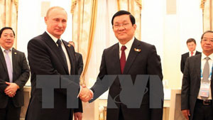 Russia, Vietnam solidify strategic partnership