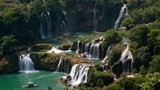 ban gioc among worlds top 15 amazing waterfalls