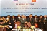 vietnam promotes transport ties with thailand