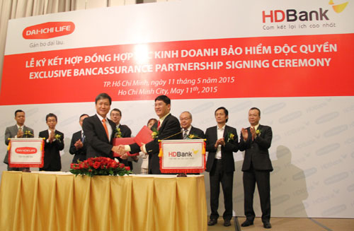 Dai-ichi Life Vietnam and HDBank enter into exclusive long-term bancassurance partnership