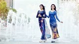 ao dai featuring modern hcm city to be displayed in rok