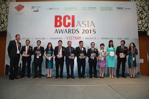 BCI Asia Awards Vietnam's top ten architecture firms and property developers