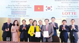 HCM City signs cooperation deals with big RoK firms