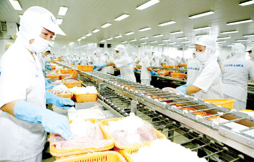 Competitive advantage  in seafood exports to RoK
