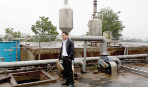 Habeco Nghe An:   Clean technology,  green environment