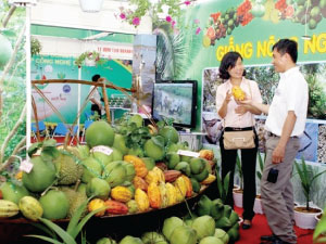 Great attraction from Vietnam Foodexpo 2015