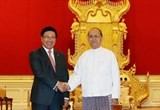 myanmar attaches importance to relations with vn