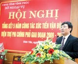 vinh phuc improves investment environment
