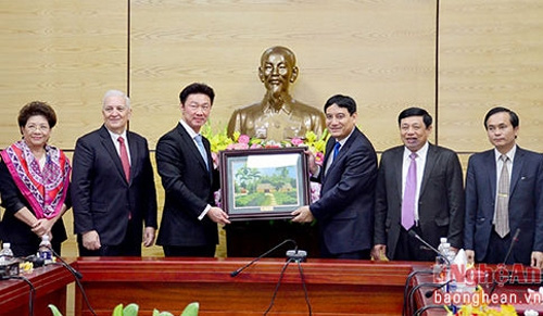 Thai Hemaraj to develop two industrial zones in Nghe An