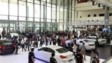 bmw world expo opens in capital city