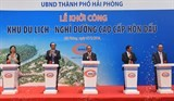 pm launches construction of vnd5 trillion resort in hai phong