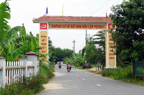 Da Nang has new-style rural district