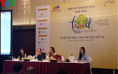 Hanoi festival celebrates European food