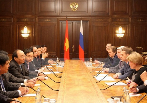 PM visits Russia's Zarubezhneft oil and gas group