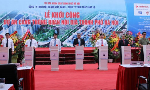 Work starts on Hanoi's largest inland clearance depot