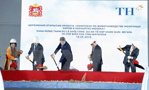Construction begins on VN's biggest investment project in Russia