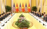 vietnamese us leaders discuss ways to boost bilateral ties
