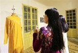 old rare ao dai collection displayed in hue